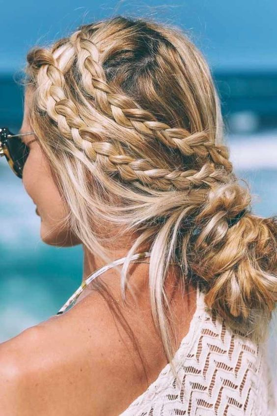Hairstyles for the summer of 2018 (31)