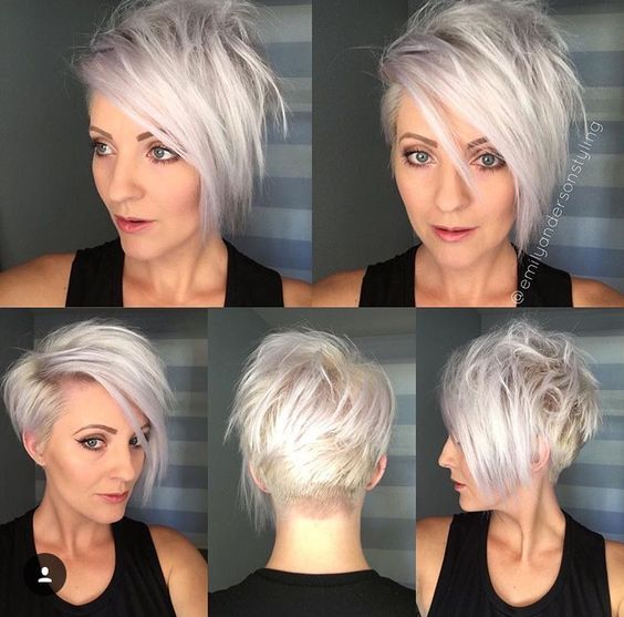 Platinum hair color (23)
