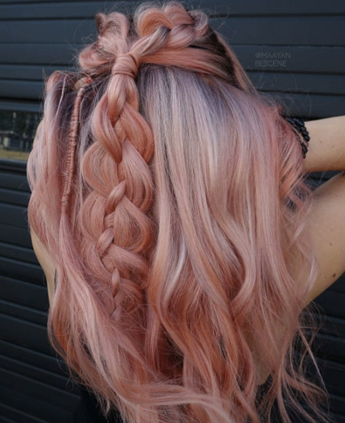 25 Rose haircolor ombre (21)