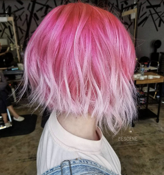 25 Rose haircolor ombre (20)