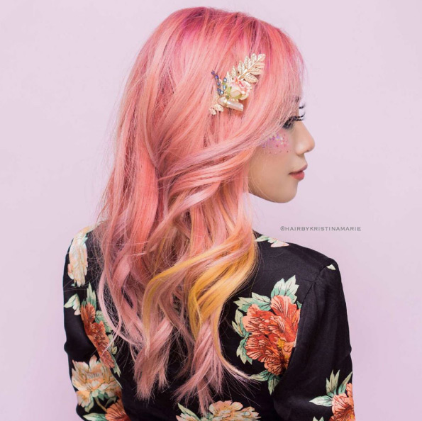 25 Rose haircolor ombre (19)