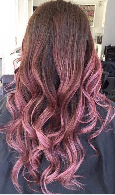 25 Rose haircolor ombre (10)