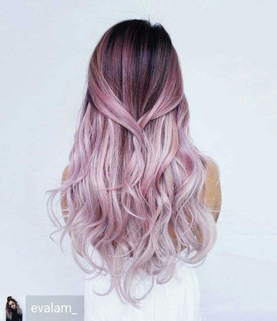 25 Rose haircolor ombre (13)