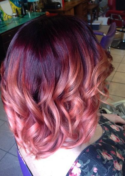 25 Rose haircolor ombre (8)
