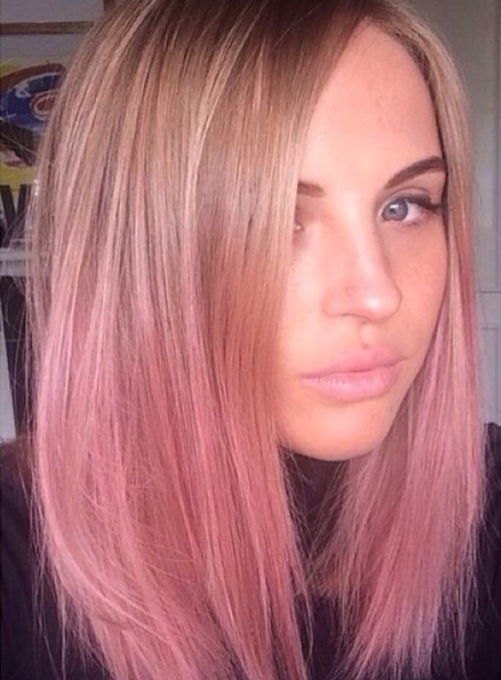 25 Rose haircolor ombre (7)