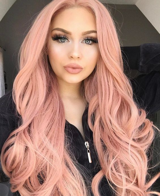 25 Rose haircolor ombre (17)