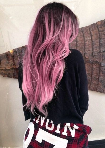 25 Rose haircolor ombre (5)