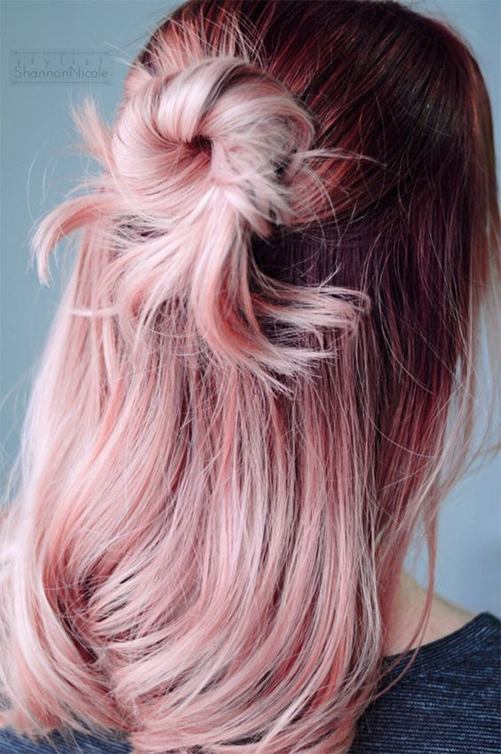 25 Rose haircolor ombre (2)