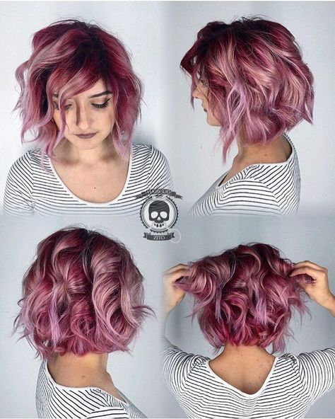 25 Rose haircolor ombre (1)